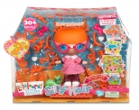 Boneca Lalaloopsy Littles Silly Hair Specs Reads-a-lot