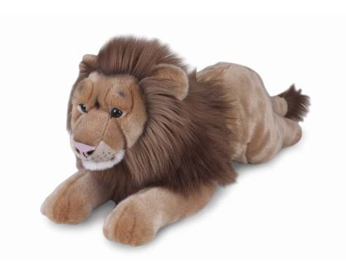 Leao de Pelucia  Real Safari 70cm